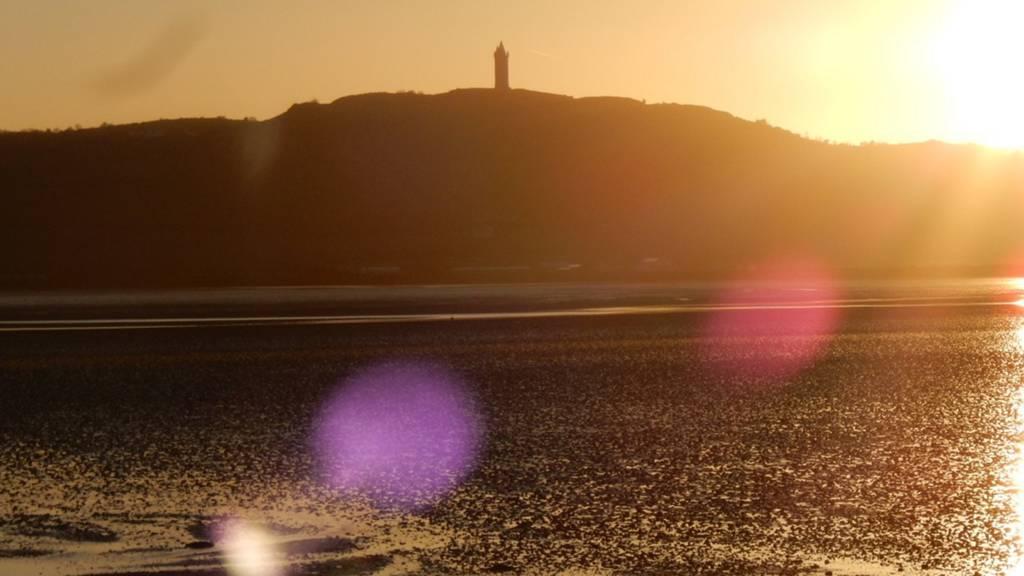 Dawn over Newtownards