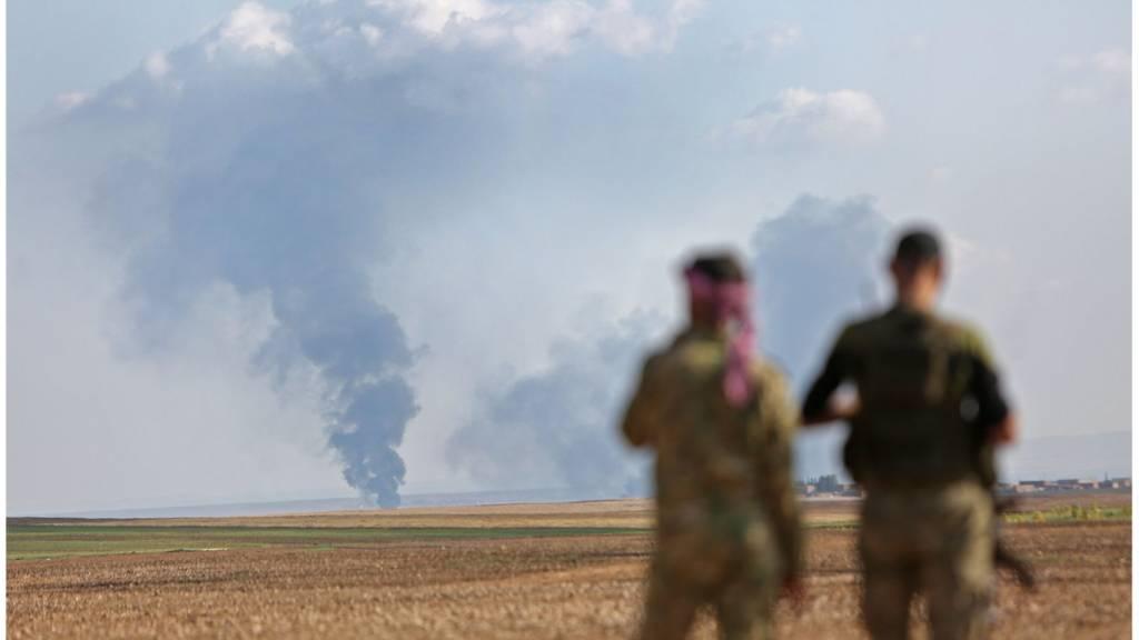 مسلحون في شمال سوريا ، رأس العين