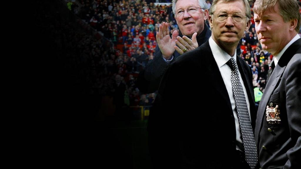 Sir Alex Ferguson through the years