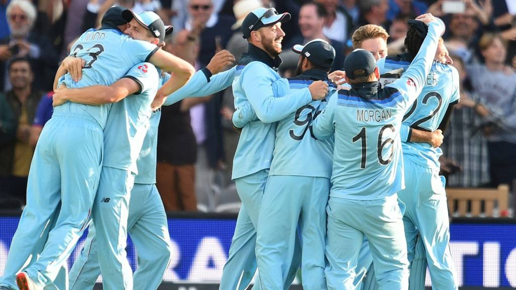 England Win Cricket World Cup After Final Against New