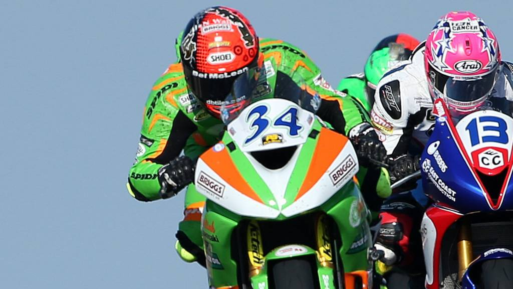 Alastair Seeley in action at the North West 200