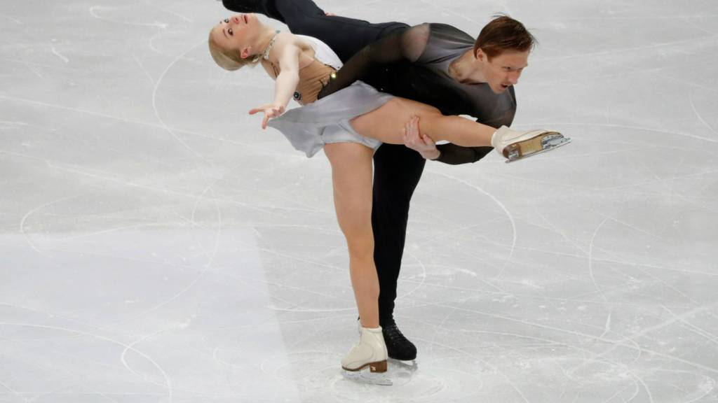 Evgenia Tarasova and Vladimir Morosov