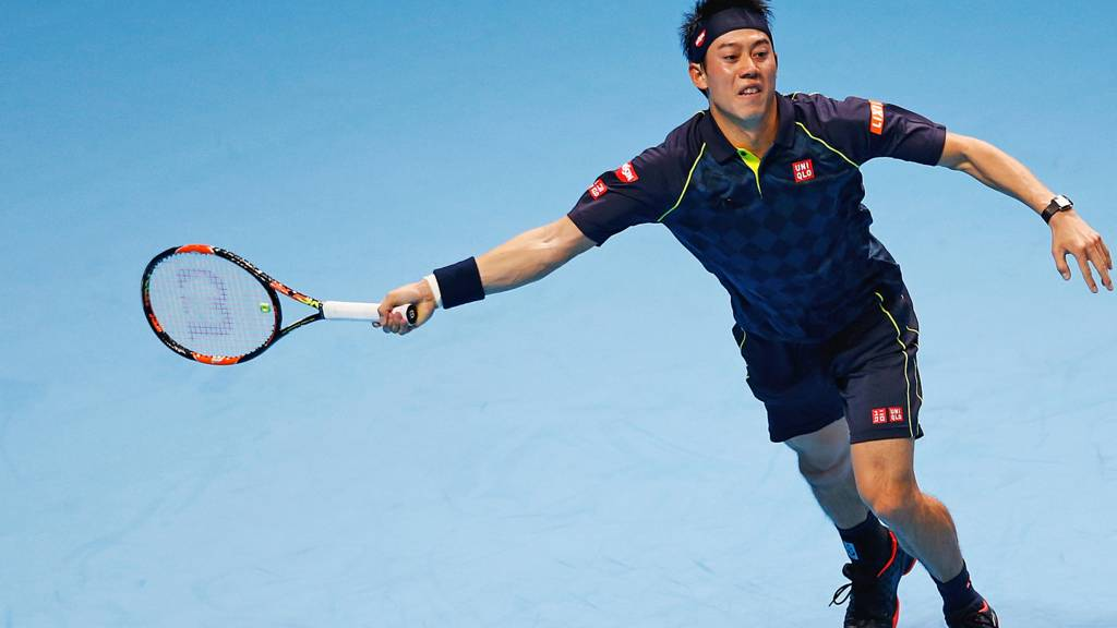 Kei Nishikori of Japan