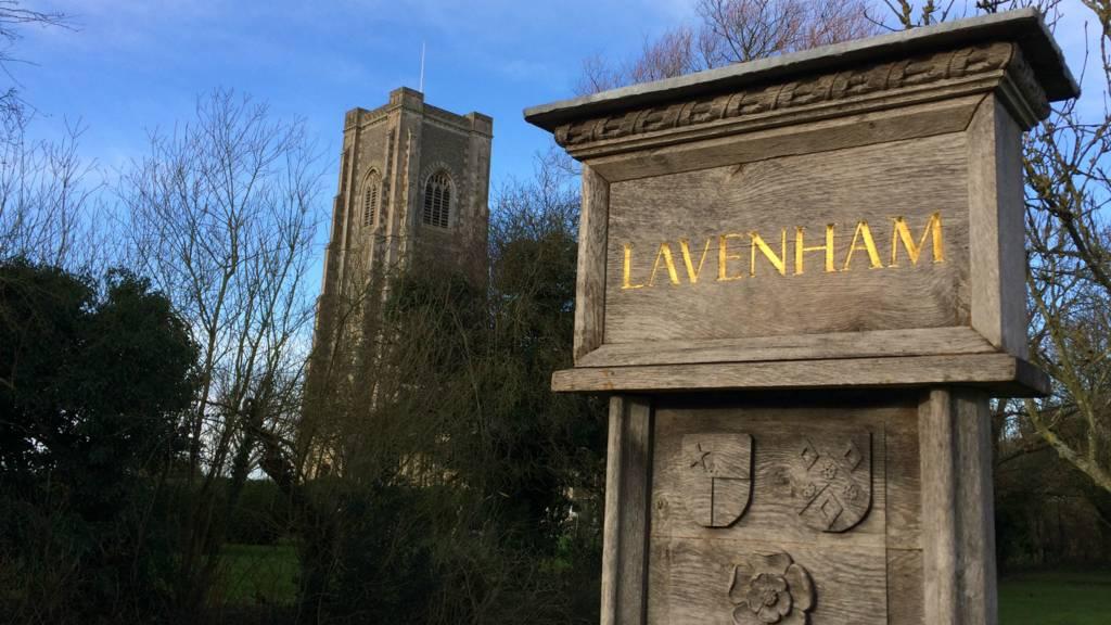 Lavenham village sign
