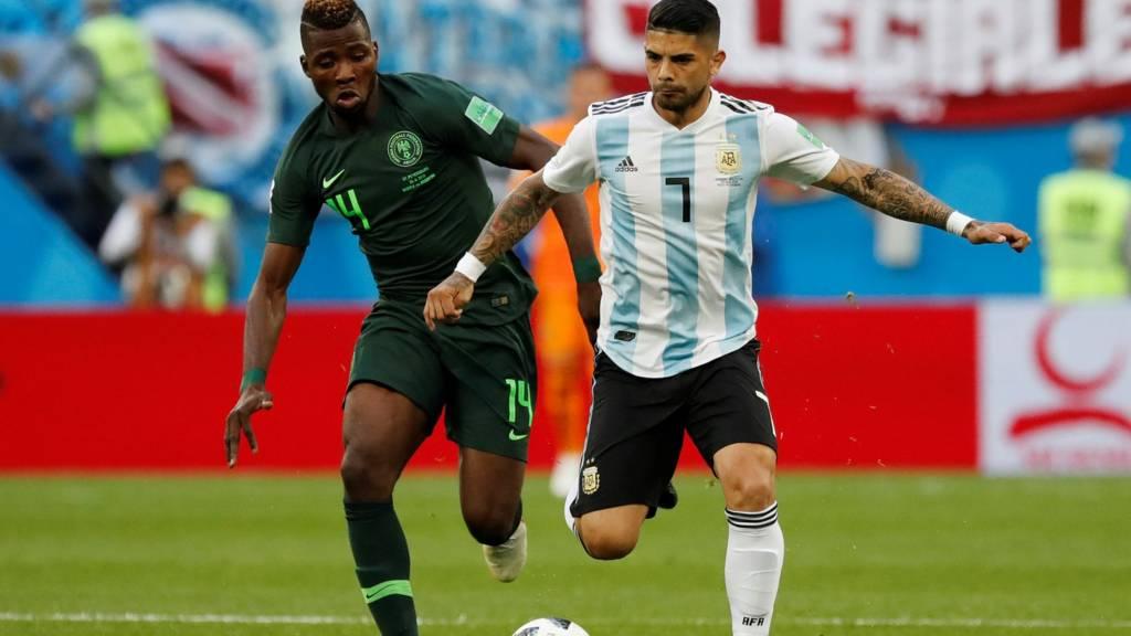 Argentinien Nigeria Live