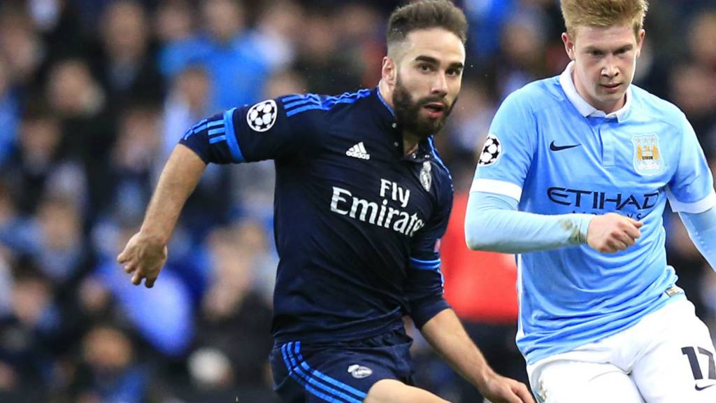Carvajal and Kevin de Bruyne