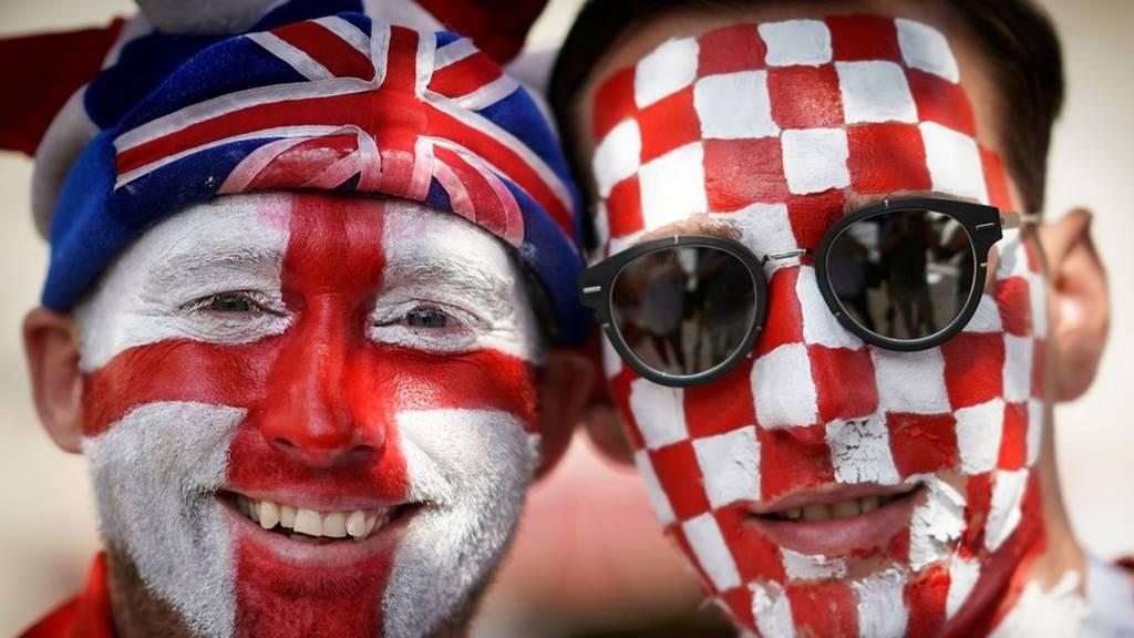 Croatia da Ingila