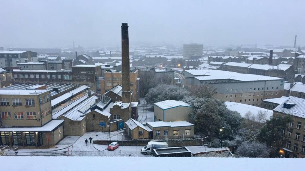 Snow in Bradford