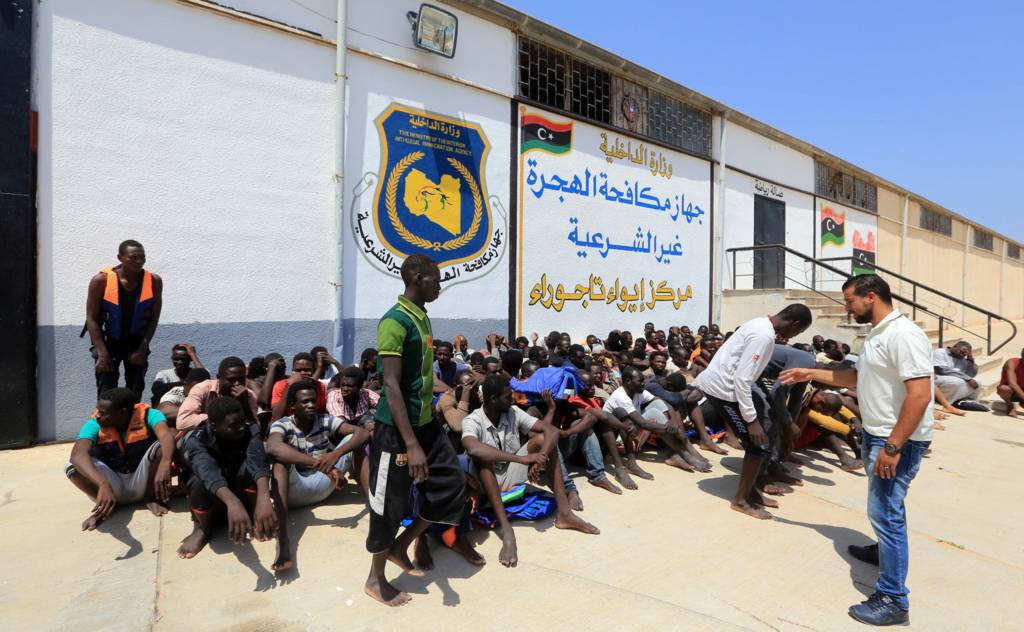 مهاجرون أفارقة في ليبيا