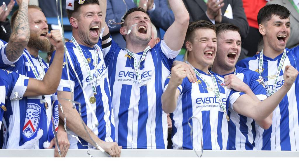 Coleraine beat Cliftonville 3-1 in the Irish Cup final