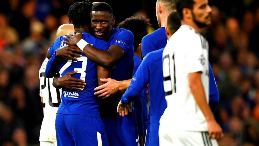 """تشيلسي يسحقه ضيفه الأذربيجاني """"بنصف دستة"""" في دوري أبطال أوروبا (فيديو)"""