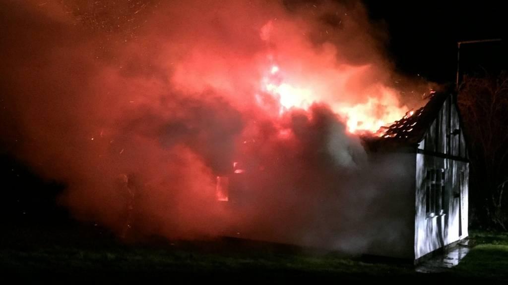 Bungalow fire