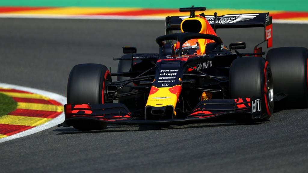 Max Verstappen at Spa
