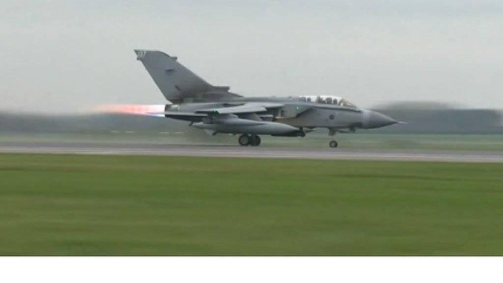 Tornado taking off from RAF Marham