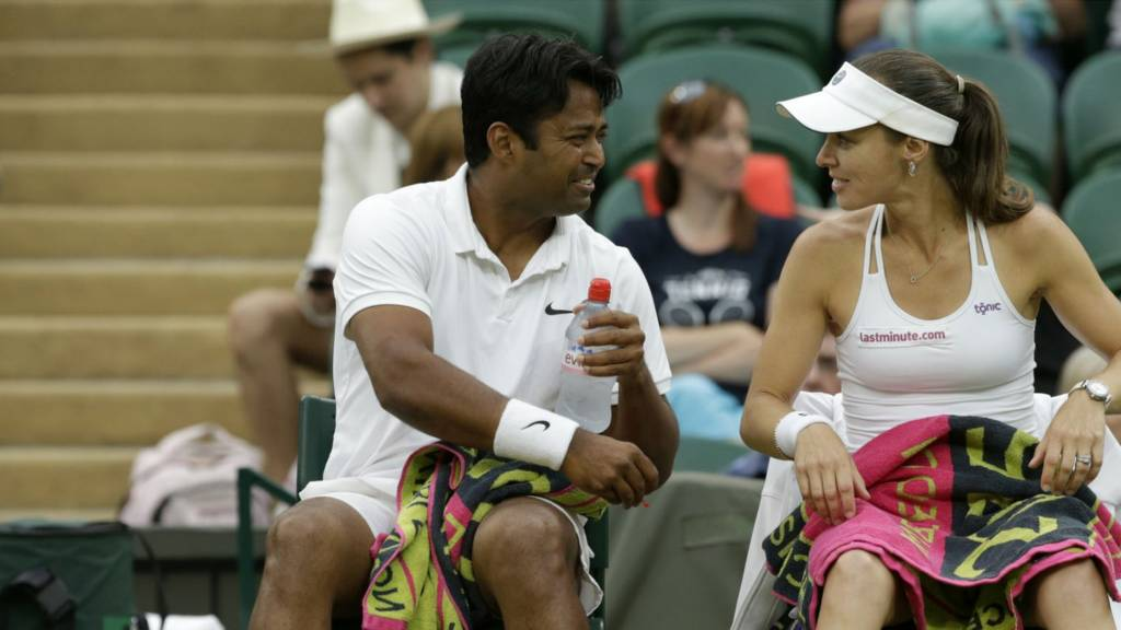 Martina Hingis and Leander Paes