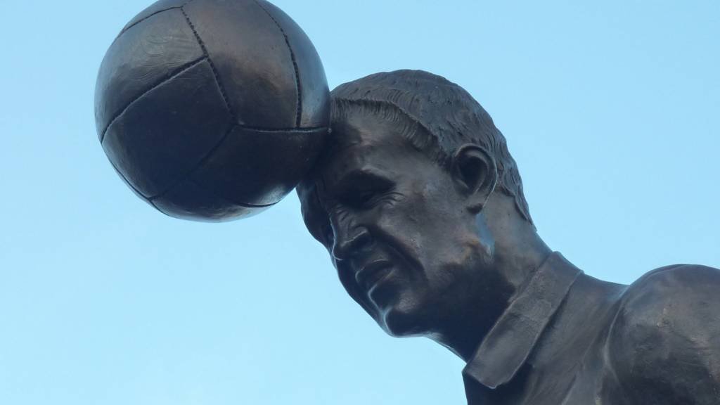 Sproson Statue at Vale Park