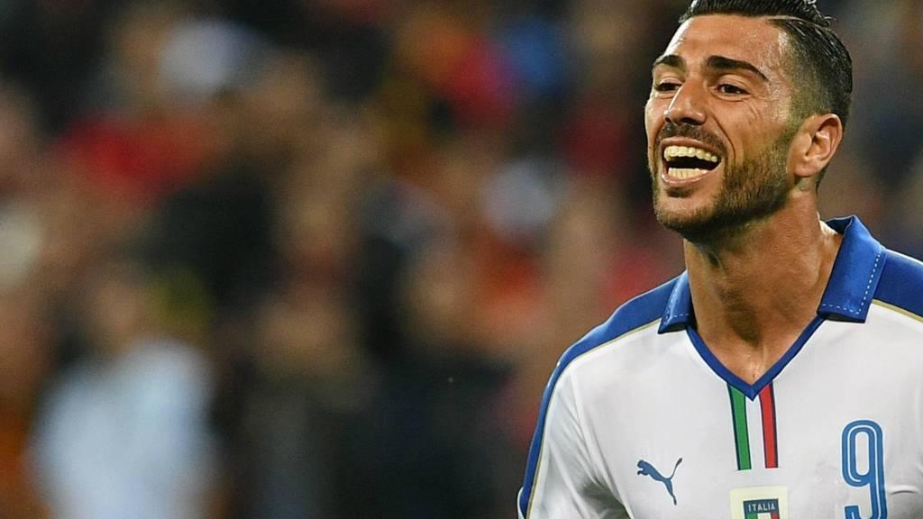Graziano Pelle celebrates
