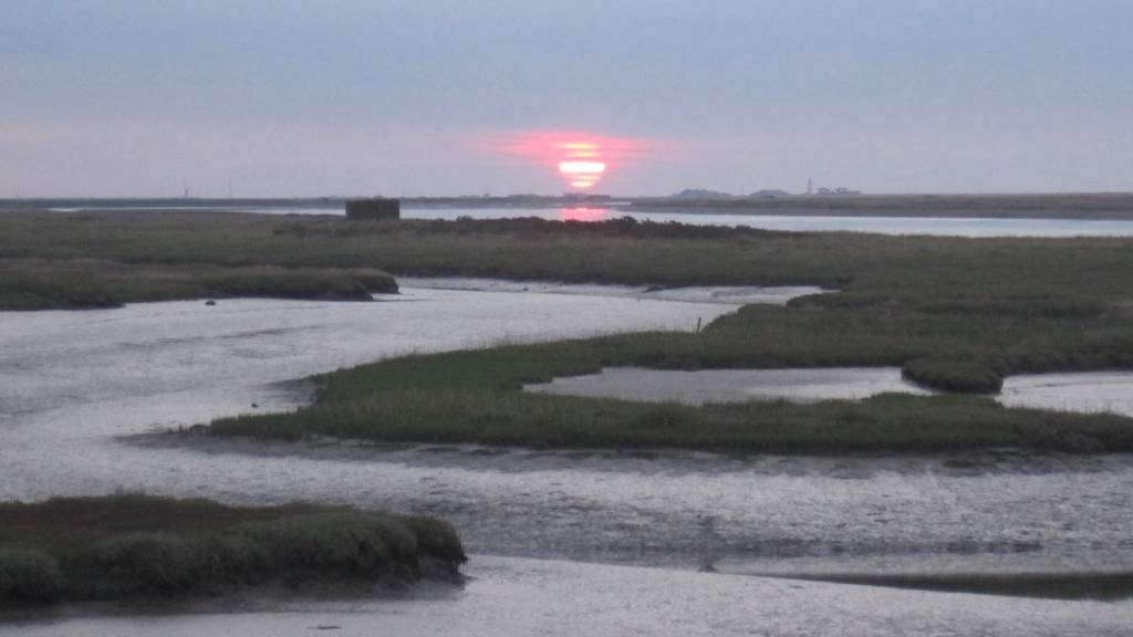 Bawdsey sunset