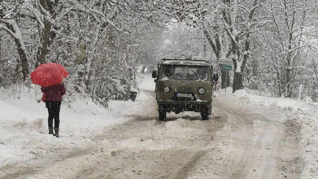 برف مجارستان