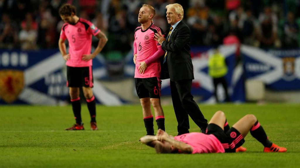 Gordon Strachan and his Scotland players reflect on their World Cup exit