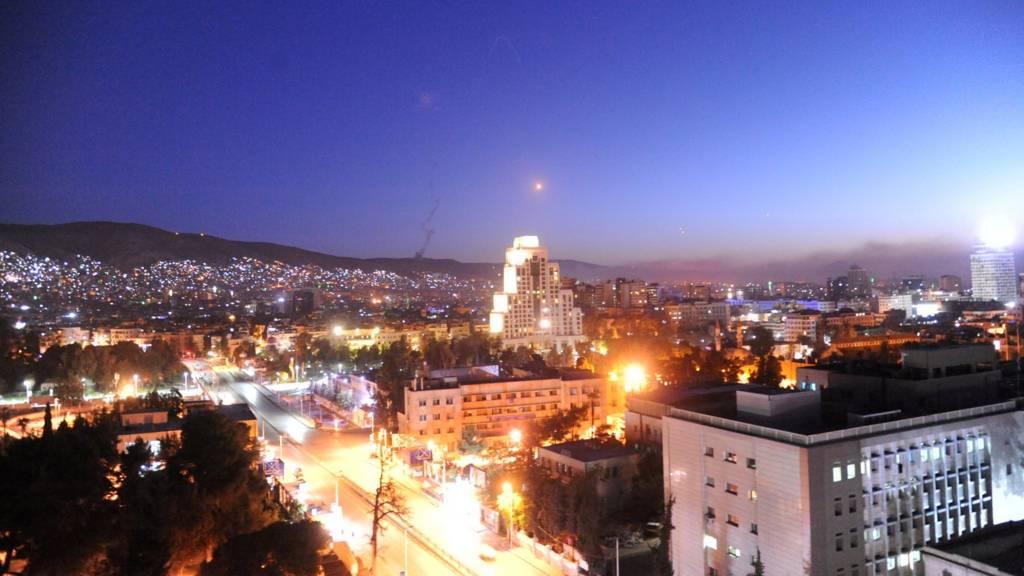 Ракета над Дамаском