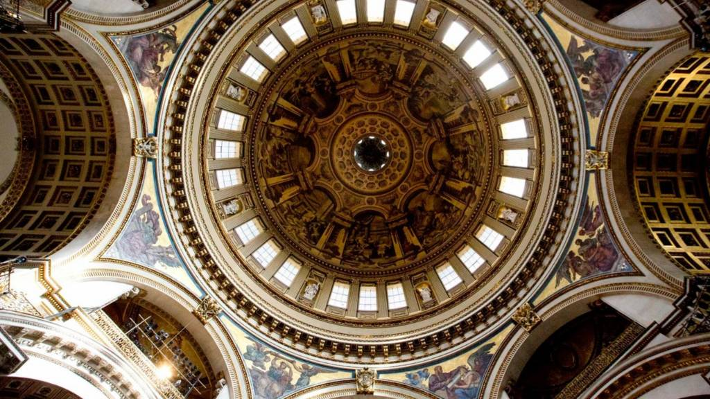 St Paul's Cathedral ceiling