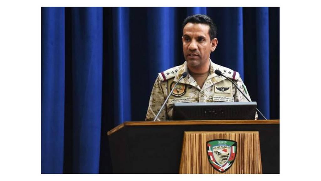 المتحدث باسم التحالف الذي تقوده السعودية في اليمن