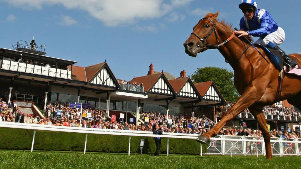 Fareer ridden by Richard Hills wins at Chester
