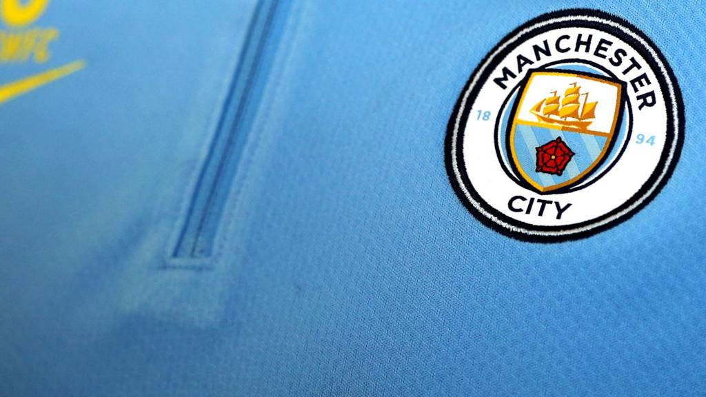 Manchester City's new badge