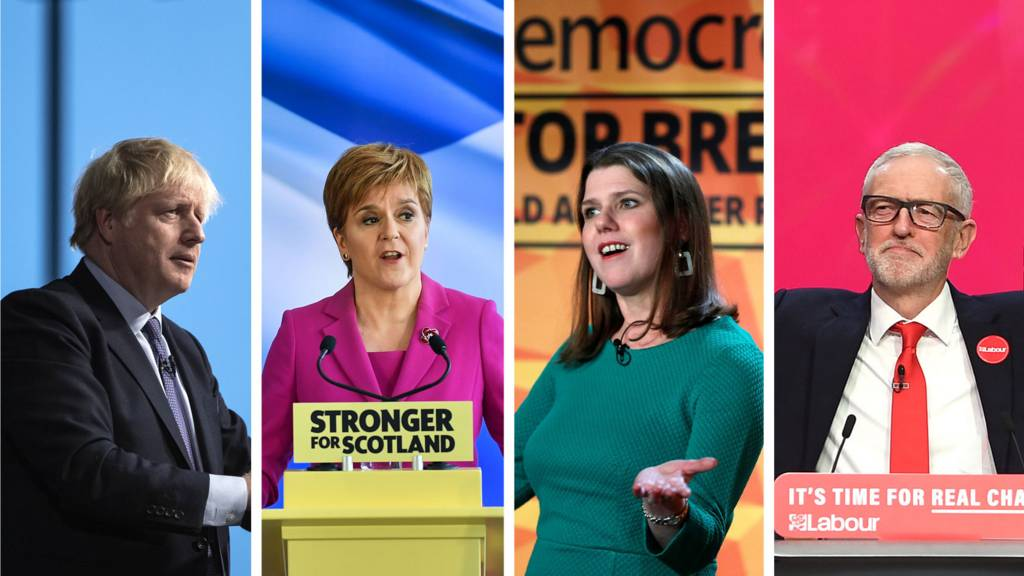 Four party leaders