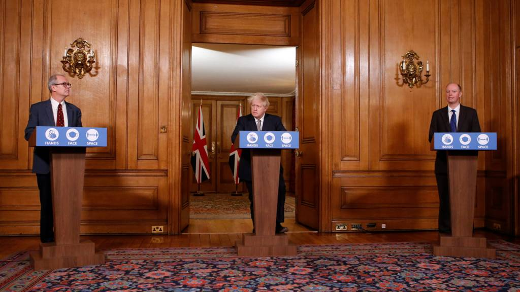 Downing Street press conference on 26 November 2020