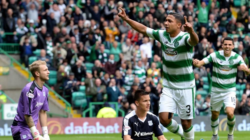 Celtic's Emilio Izaguirre has scored twice