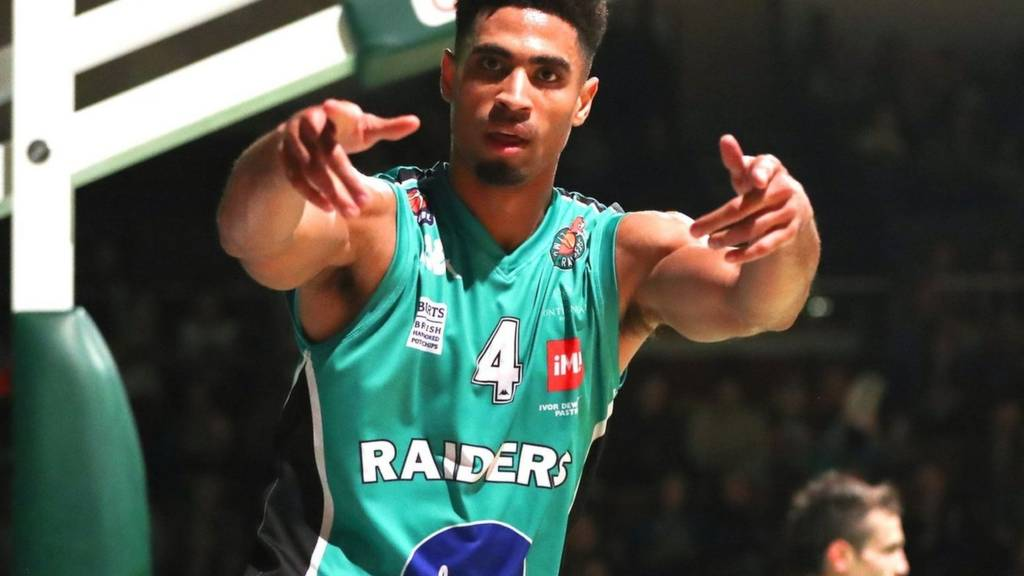 Cory Dixon of Plymouth Raiders