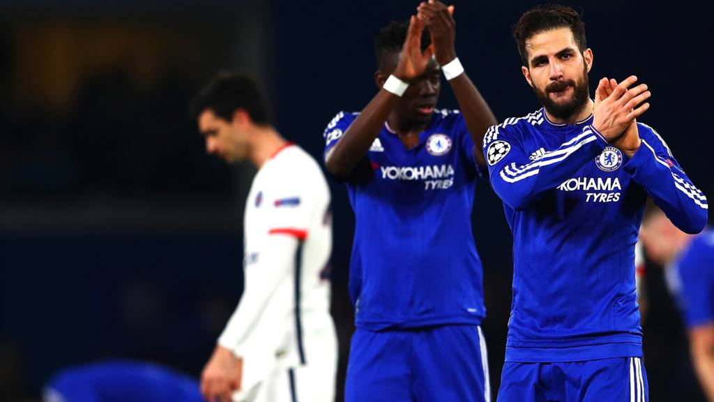 Chelsea react at full-time