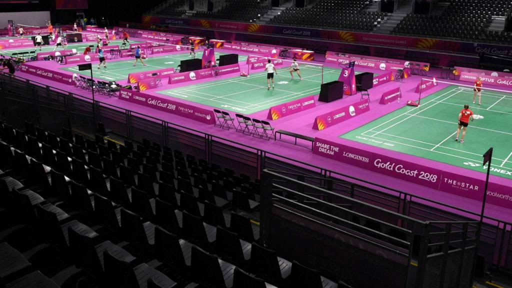 Badminton courts Gold Coast