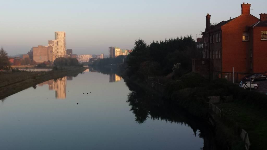 Ipswich skyline