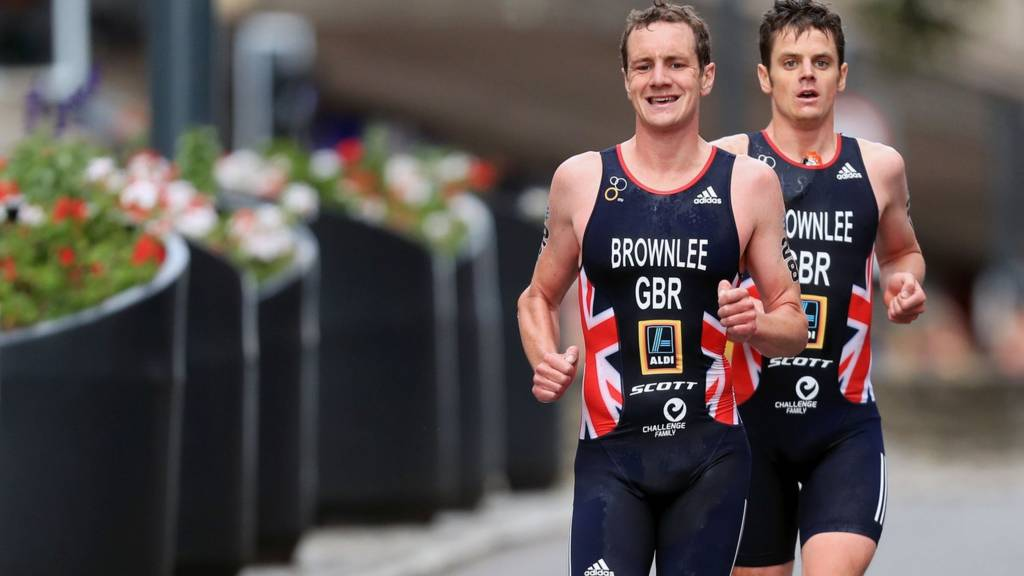 Jonathan and Alastair Brownlee