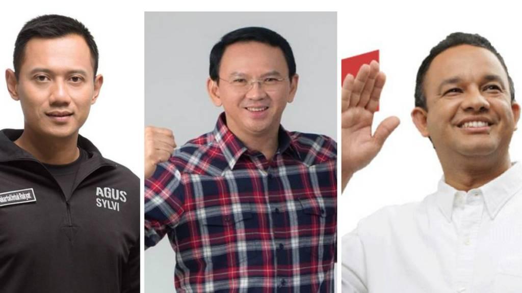 Debat Panas Rebut Kursi Jakarta Agus Ahok Anies Siapa Unggul