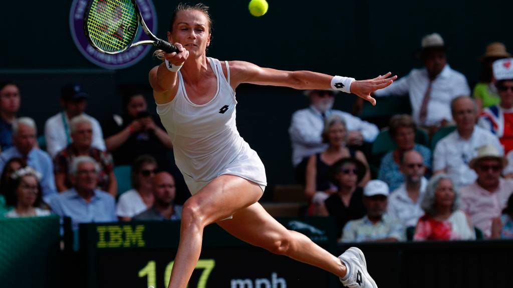 Unseeded Rybarikova makes first Wimbledon semi-final