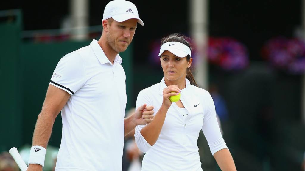 Dominic Inglot and Laura Robson