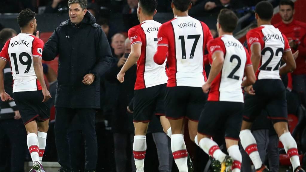 Boufal scores for Southampton