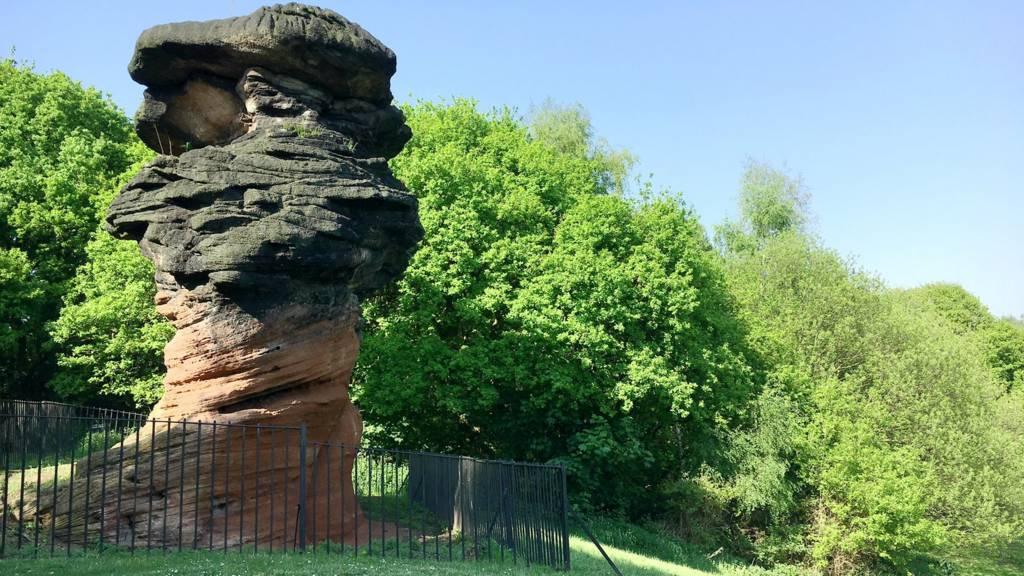 Hemlock Stone, Nottingham