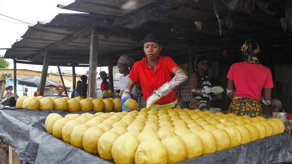 Woman preparing soap