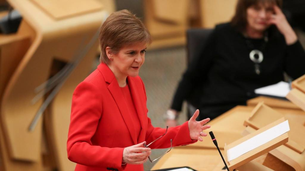 Rules on outdoor meeting in Scotland will ease from Friday in Scotland