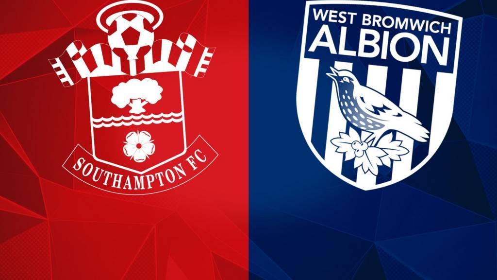 Southampton v West Bromwich Albion