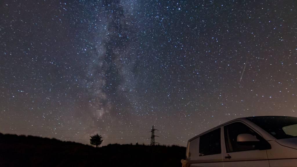 Meteor over Draperstown, 11 August 2016