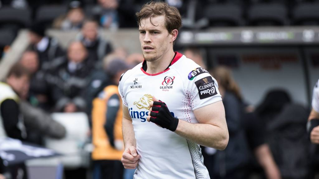 Andrew Trimble is making a record-breaking 222nd appearance for Ulser