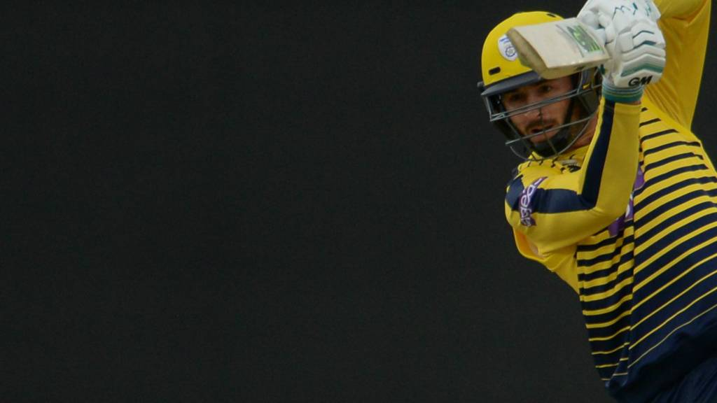 Hampshire's James Vince
