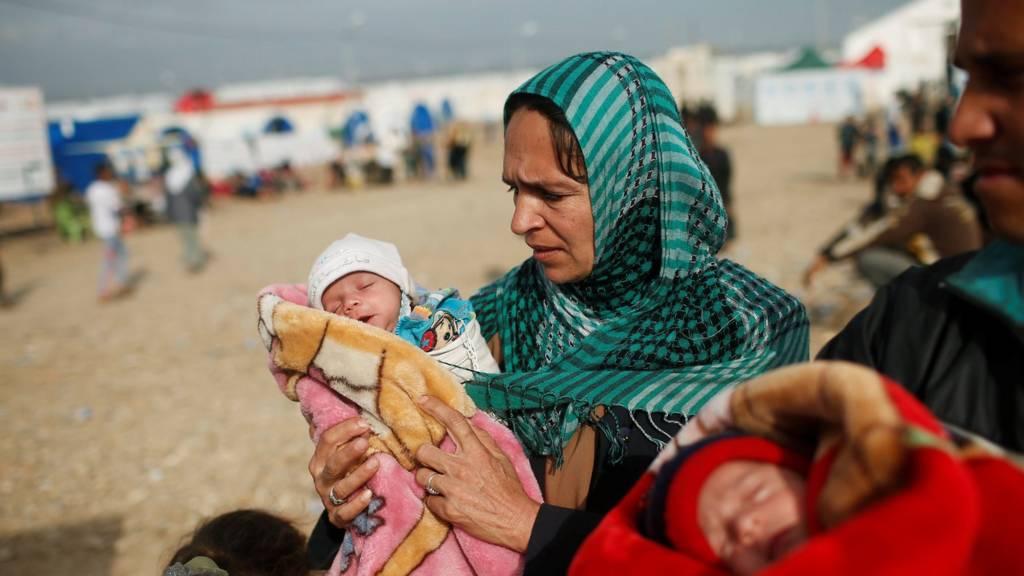 زن عراقی