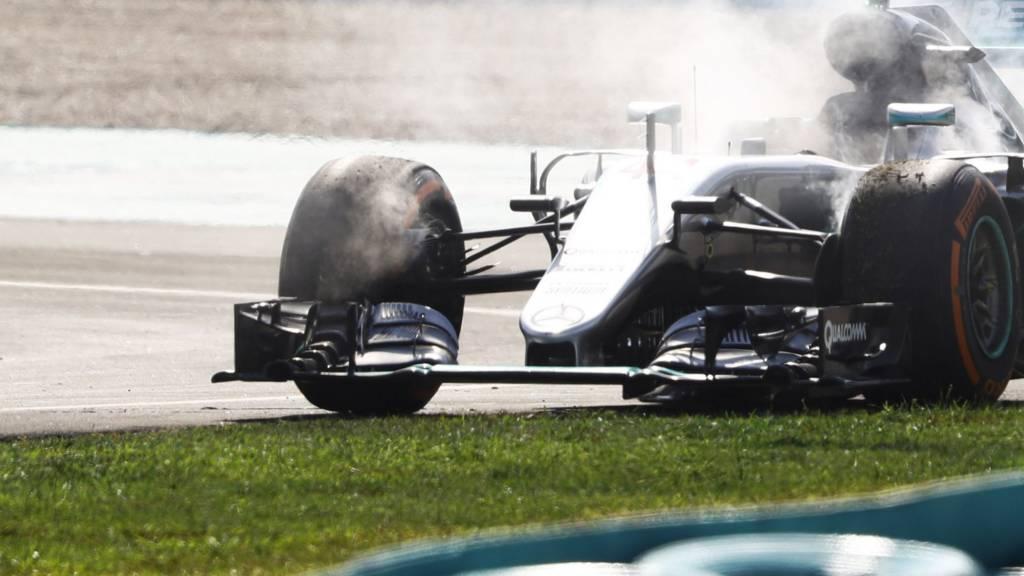 Lewis Hamilton retires